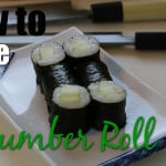 How to Make a Cucumber Roll