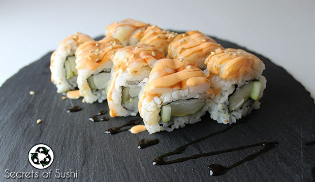 Great White Roll - Secrets of Sushi