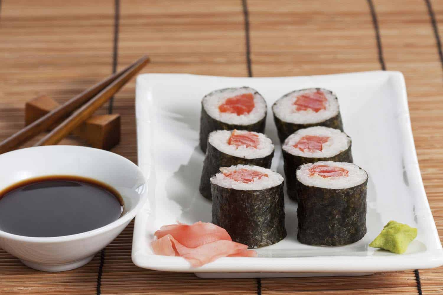 Tuna Roll - Secrets of Sushi