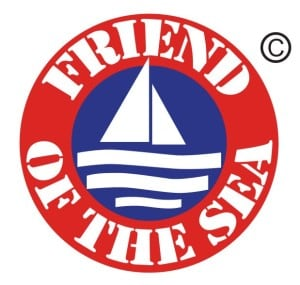 Friend of the Sea Logo - identify sustainable seafood