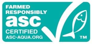 Aquaculture Stewardship Council logo - identify sustainable seafood