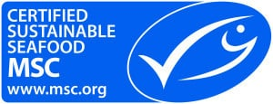 Marine Stewardship Council logo - identify sustainable seafood