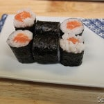 Finished Salmon Roll