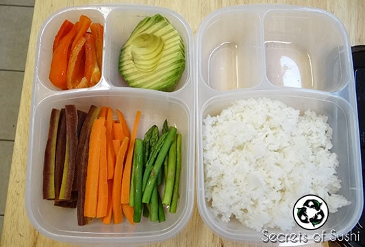 Packing Sushi for Lunch: Easy Lunch Boxes
