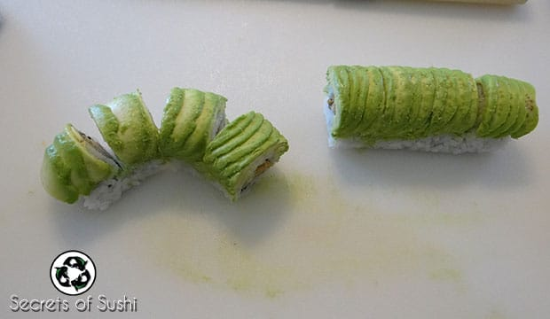 arranging a caterpillar roll
