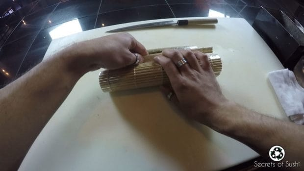 Rolling the Spider Roll - part 2.3