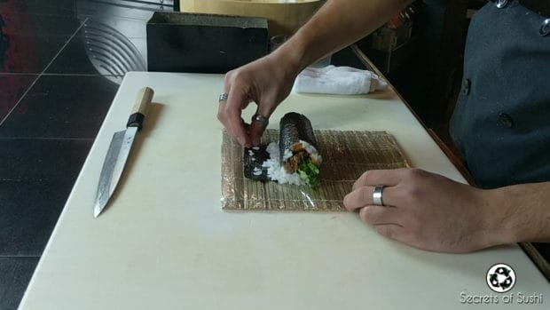 Rolling the Spider Roll- part 4.2