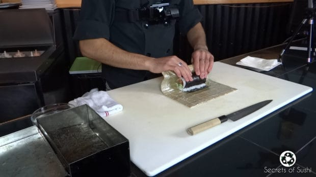 Rolling the Spider Roll- part 5